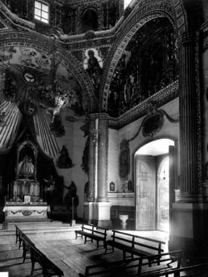 Interior de la Capilla del Rosario, vista general