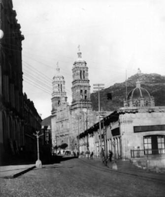 Catedral de Zacatecas, primer y segundo cuerpos de la fachada