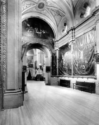 Interior de la Capilla llamada El Señor de Contreras. Iglesia del Carmen, Distrito Federal