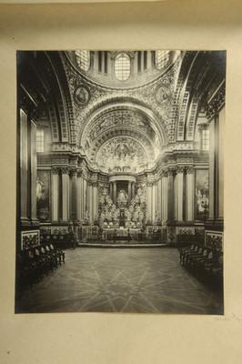 Museo Ex-convento. Interior de la Capilla de Nápoles. Iglesia de Guadalupe. Villa de Guadalupe Estado de Zacatecas