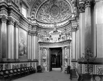 Museo Ex-convento. Villa de Guadalupe, E. de Zac. Capilla de Nuestra Señora de Nápoles