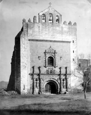 Iglesia de San Agustin en Acolman, fachada