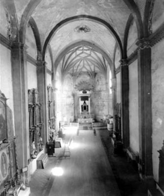 Iglesia de San Agustín, vista general del interior