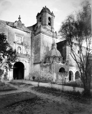 Capilla de San Diego en el Ex-Convento de Churubusco, fachada