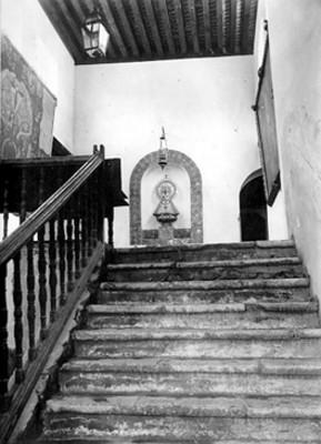 Escalera principal del Ex-Convento de Churubusco