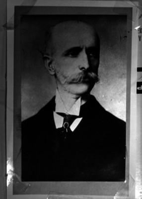 José Limantour, ministro de Hacienda, retrato