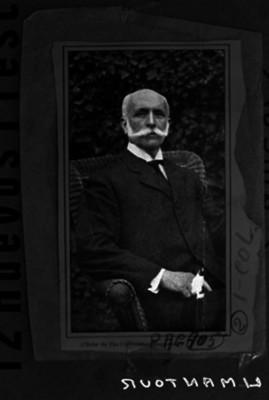 José Ives Limantour, ministro de Hacienda, retrato