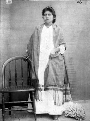 Mujer nahua, retrato