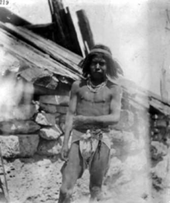 Tarahumara adolescente, retrato