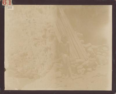 Hombre tarahumara, retrato