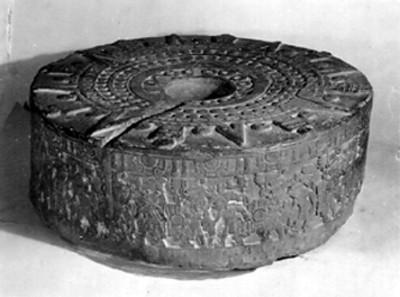 Reproducción de la Piedra de Tizoc