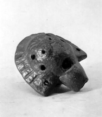 Silbato en forma de caparazón de tortuga