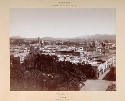 Puebla, vista panorámica