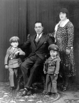 """Familia """"Olvera"""", retrato"""