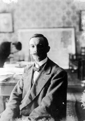 Manuel Gamio, retrato