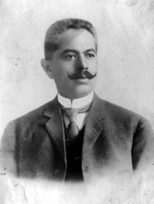 """""""Rafael Alducín"""", retrato"""