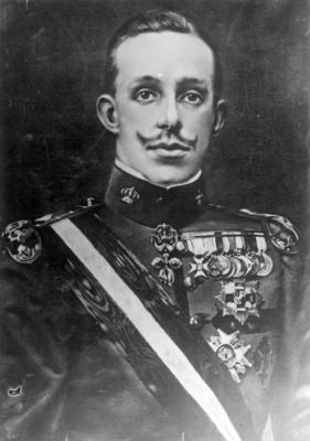 """Alfonso XIII"", retrato"