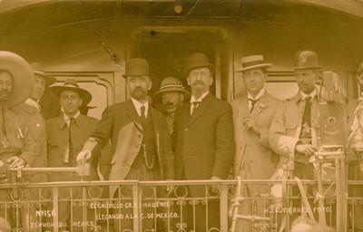 El Caudillo Sr. F. I. Madero llegando a la C. de México [sic]