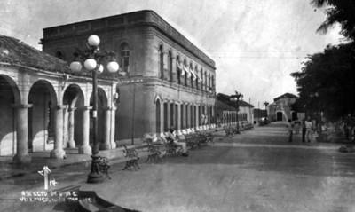 Plaza pública en Villahermosa