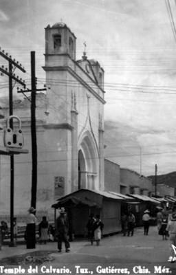 """Templo del Calvario"", vista lateral"