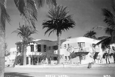 Hotel Perla, tarjeta postal