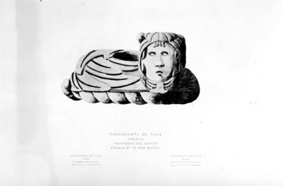 """""""Cihuacoalt de Tula (frente)"""" propiedad del autor"""
