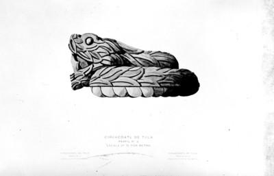Cihuacoatl de Tula (perfil No.2)