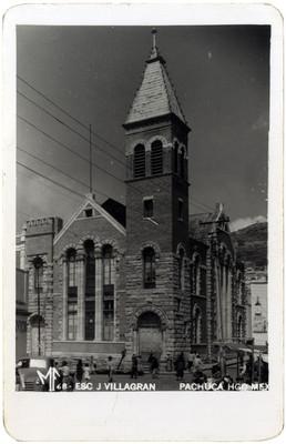 """""""Esc. J. Villagrán"""", exterior, tarjeta postal"""