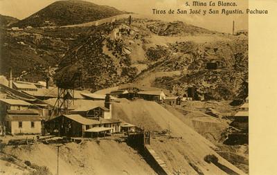 Mina La Blanca. Tiros de San José y San Agustín