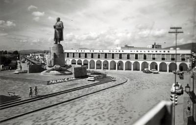 Panorámica de la Plaza Juárez