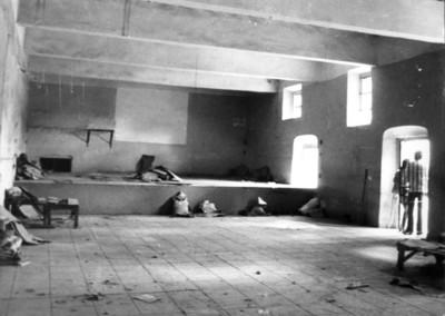 Presos al interior de la cárcel de Pachuca