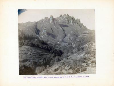 Las Monjas, vista de noreste a sureste, Mineral del Chico