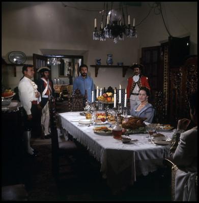 Salvador Sánchez frente a David Reynoso, en escena de la película La Casa del Sur