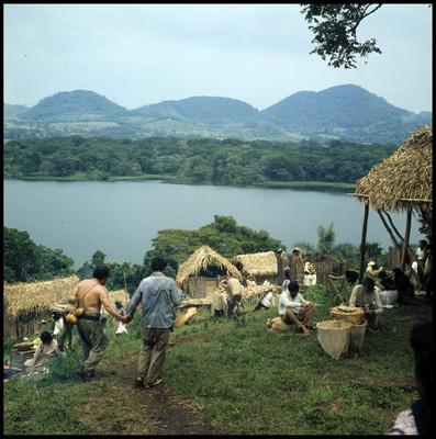 """Escena de vida cotidiana de la película """"La Casa del Sur"""""""