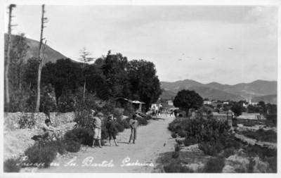 """""""Paisaje en San Bartolo Pachuca"""", tarjeta postal"""