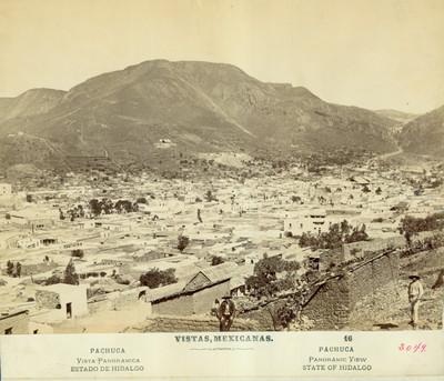 Panorámica de la ciudad de Pachuca