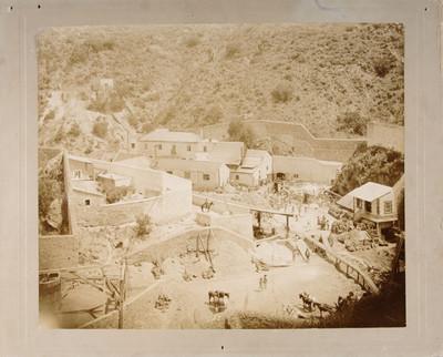 Mina de Rosario, vista parcial