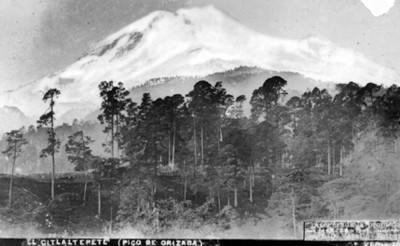 El Citlaltepete (Pico de Orizaba)