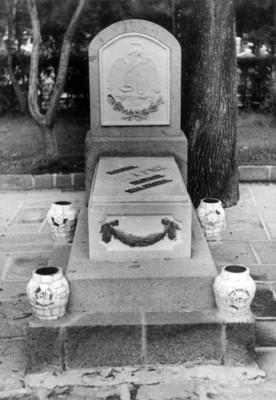 Monumento al Gral. Juan Alvarez en la Rotonda de los Hombres Ilustres del Panteón de Dolores