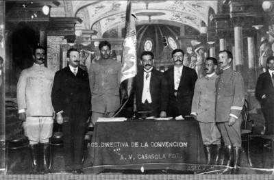 Mesa Directiva de la Convención de Aguascalientes