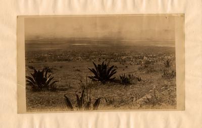 """Vista desde el cerro de la Estrella, """"6456. View from the cerro estrella"""""""