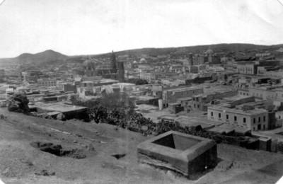 5223. Zacatecas. General view from the Bufa