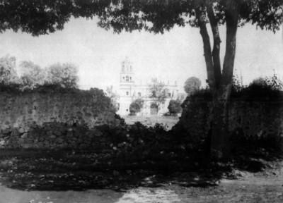 Iglesia de Coyoacán, fachada