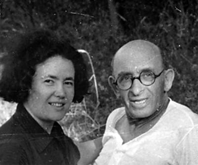 Mollie Steimer y Alexander Berkman, retrato