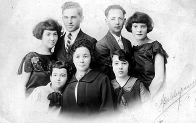 Familia de Mollie Steimer, retrato de grupo