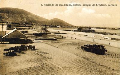 Hacienda de Guadalupe. Sistema antiguo de beneficio