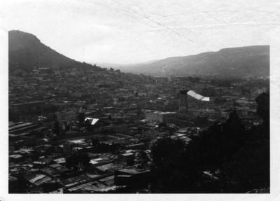 Panorámica del centro de la ciudad de Pachuca