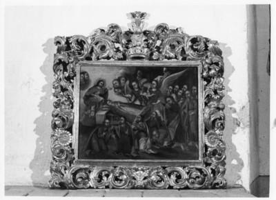 Muerte de San Ignacio de Loyola, cuadro al oleo, exhibida en el Museo Regional de Guadalupe