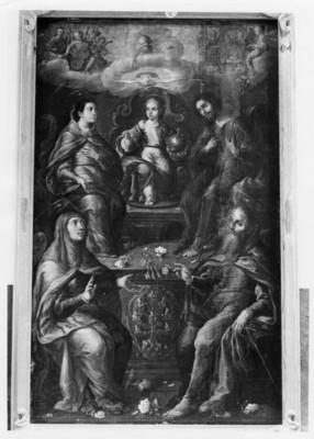 Pintura de Cristobal Villapando en la Sala Alegorías de Cristobal Villalpando en el Museo Guadalupe