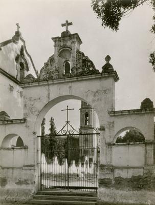 Reja e iglesia de Atzcapotzalco
